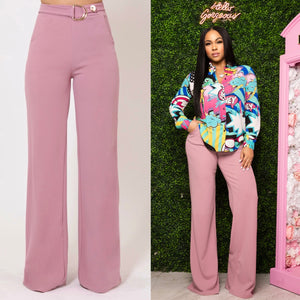 """Evette"" High Waist Pants"