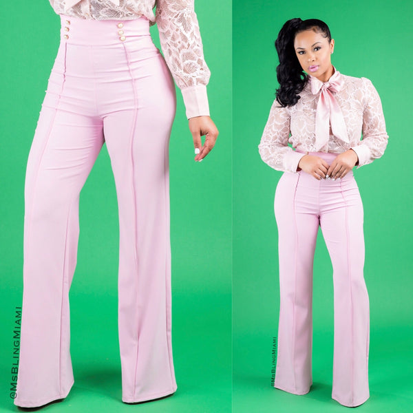 Nicole High Waist Pants