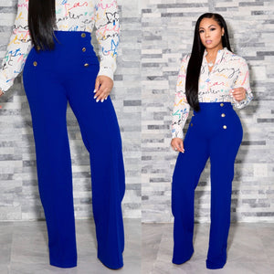 """Agathe"" Super High Waist Pants"