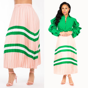 Felicity Pleated Skirt