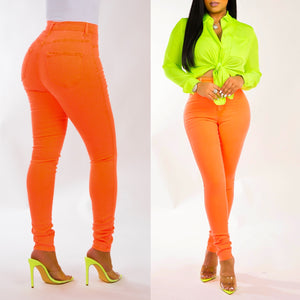 Hourglass Jeans (Neon Edition)