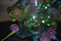"Brandon Martin Organism ""Phixx"" Glass bubbler"