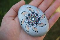 hand painted dot mandala stones one of a kind