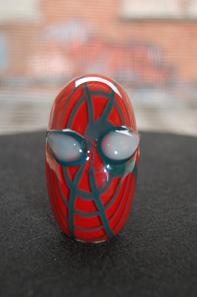 Spiderman movie hand pipe glass bongs