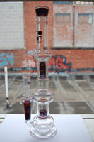 Boom Felazi Red and Blue Water Pipe Bong