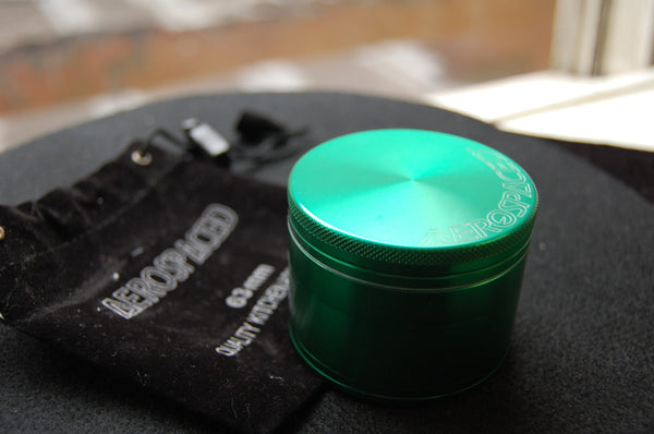Green Aerospaced Herb Grinder Online Smokeshop