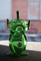 Toy Story Alien glass Hand pipe bongs oil rigs