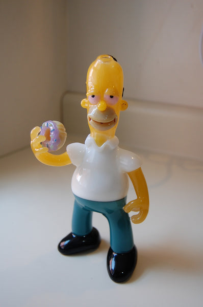 Homer Simpson Smart Glass Oil Rig