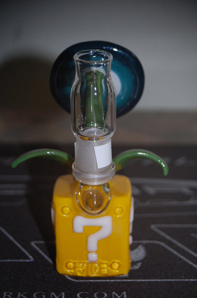 Mario Flower btgb heady glass oil rigs cheap bongs