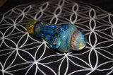 Honeycomb Handpipe with Opal