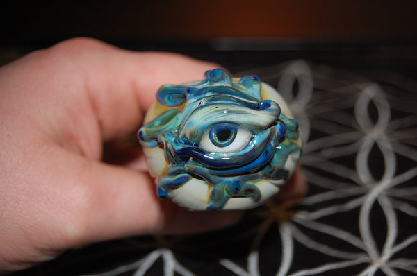 wusavi eyeball handpipe heady glass pipes