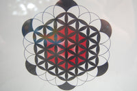 Flower of Life Original Artwork / Crystal Grid