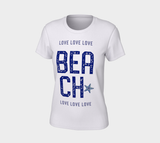 Beach Love Women's Tee - Tru-Artwear.ca