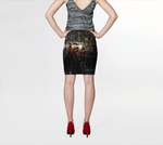 Urban Reflection Fitted Skirt - Tru-Artwear.ca
