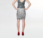 Frosted Ornamentals Fitted Skirt - Tru-Artwear.ca