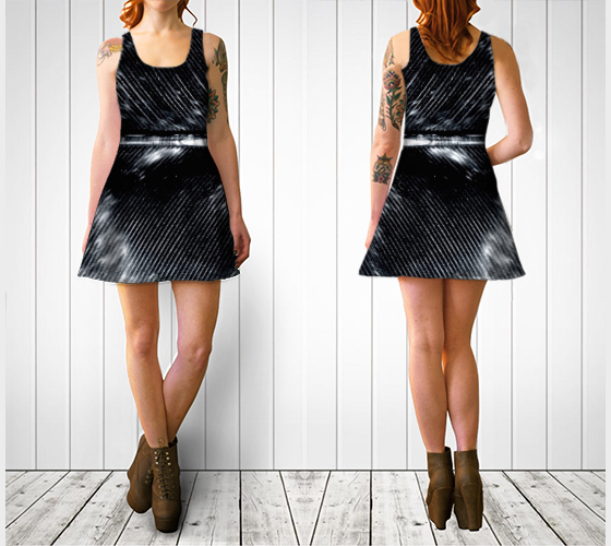 BNW Feather Flare Dress - Tru-Artwear.ca