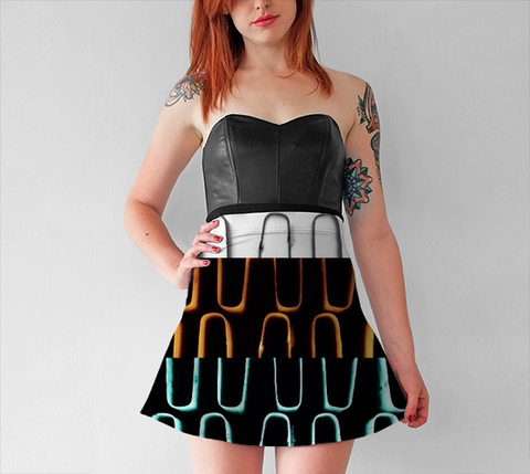 Radiator Coils Flare Skirt No.2 - Tru-Artwear.ca