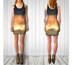 Torino Sunset Fitted Dress No.2 - Tru-Artwear.ca