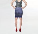 Pen Dusk Fitted Skirt - Tru-Artwear.ca