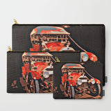 'Antique Red Car' Travel Pouch Set - Tru-Artwear.ca