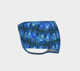 Blue Mosaic Tankini Bottoms - Tru-Artwear.ca