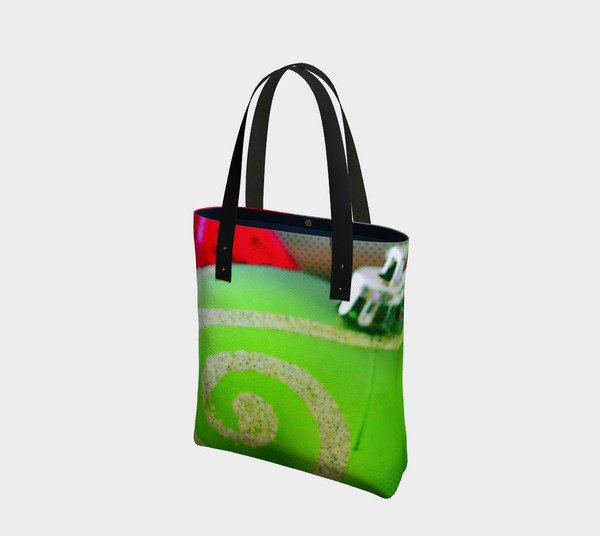 Christmas Ornament Urban Canvas Tote - Tru-Artwear.ca