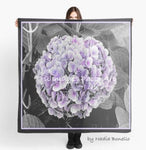 'Purple Hydrangea' Beach Wrap - Tru-Artwear.ca
