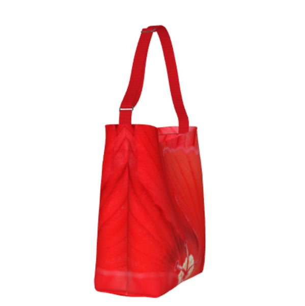 Red Hibiscus Day Tote