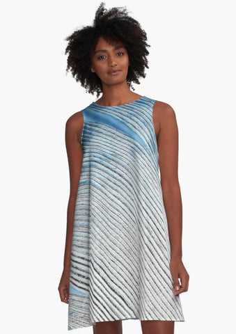 'Wind Spirit' A-Line Summer Dress - Tru-Artwear.ca