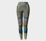 Peacock Feathers Leggings