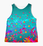 Faerie Garden Sleeveless Top - Tru-Artwear.ca