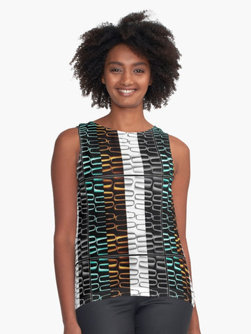 Irish Heating Coils Sleeveless Top - Tru-Artwear.ca