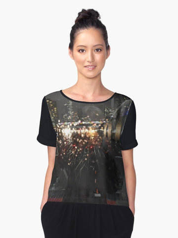 1.  Urban Reflection Chiffon Top - Tru-Artwear.ca