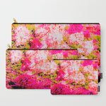 'Pink Vintage Hydrangeas' Travel Pouch Set - Tru-Artwear.ca