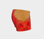 2 - Vintage Red Amethyst Shorts - Tru-Artwear.ca