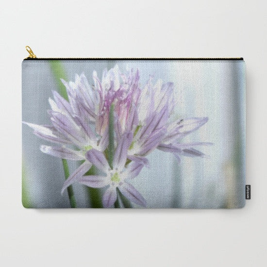 'Chive Flower' Travel Pouch Set - Tru-Artwear.ca