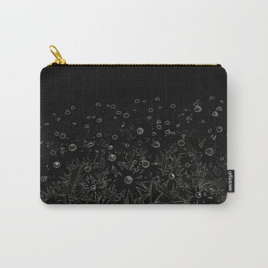 His or Her Travel Set | 'Flowers at Midnight' Travel Pouch Set - Tru-Artwear.ca