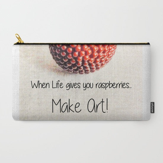 'Make Art' Travel Pouch Set - Tru-Artwear.ca