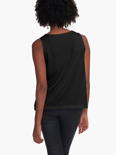 Black Flox Limited Edition Sleeveless Top - Tru-Artwear.ca