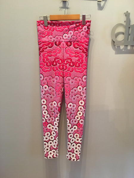 'Pretty and Pink' Leggings - Tru-Artwear.ca