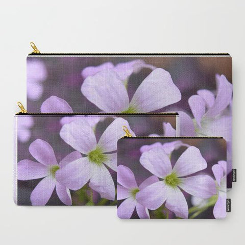 'Lavender Flower' Travel Pouch Set - Tru-Artwear.ca