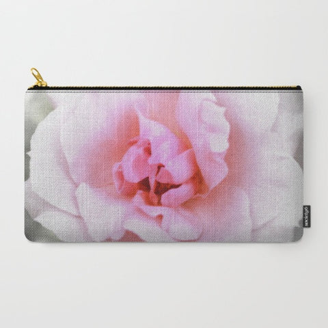 Light Pink Rose Makeup Bag - Tru-Artwear.ca