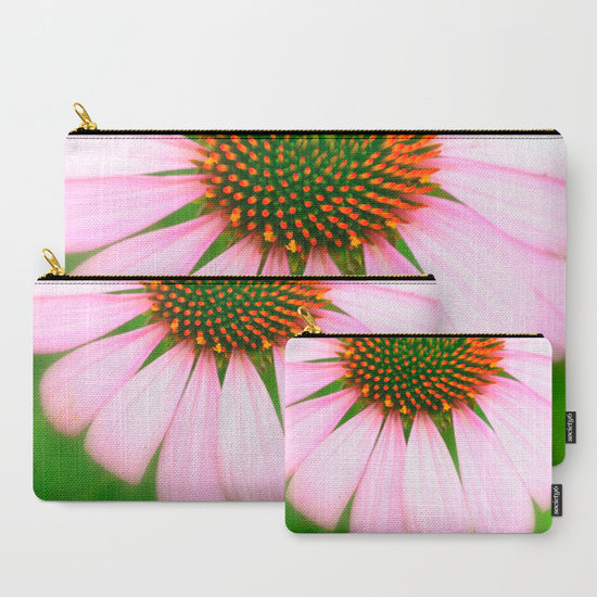 'Pink Flower' Travel Pouch Set - Tru-Artwear.ca