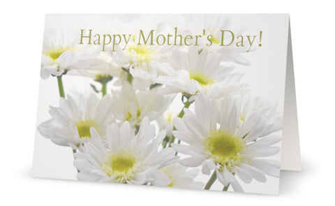 GC- Daisy Bouquet ~ Mother's Day Greeting Card - Tru-Artwear.ca