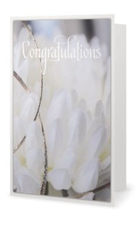 GC- Wedding Congratulations vertical greeting card - Tru-Artwear.ca