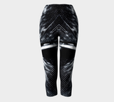 BNW Feather Shorties Capris - Tru-Artwear.ca