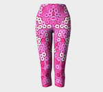 Pretty and Pink Capris - Tru-Artwear.ca