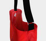 Red Hibiscus Day Tote - Tru-Artwear.ca