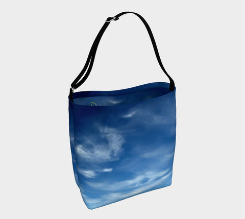 Sky with Clouds Day Tote - Tru-Artwear.ca