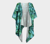 Nature & Dots Draped Fashion Cardigan - Tru-Artwear.ca
